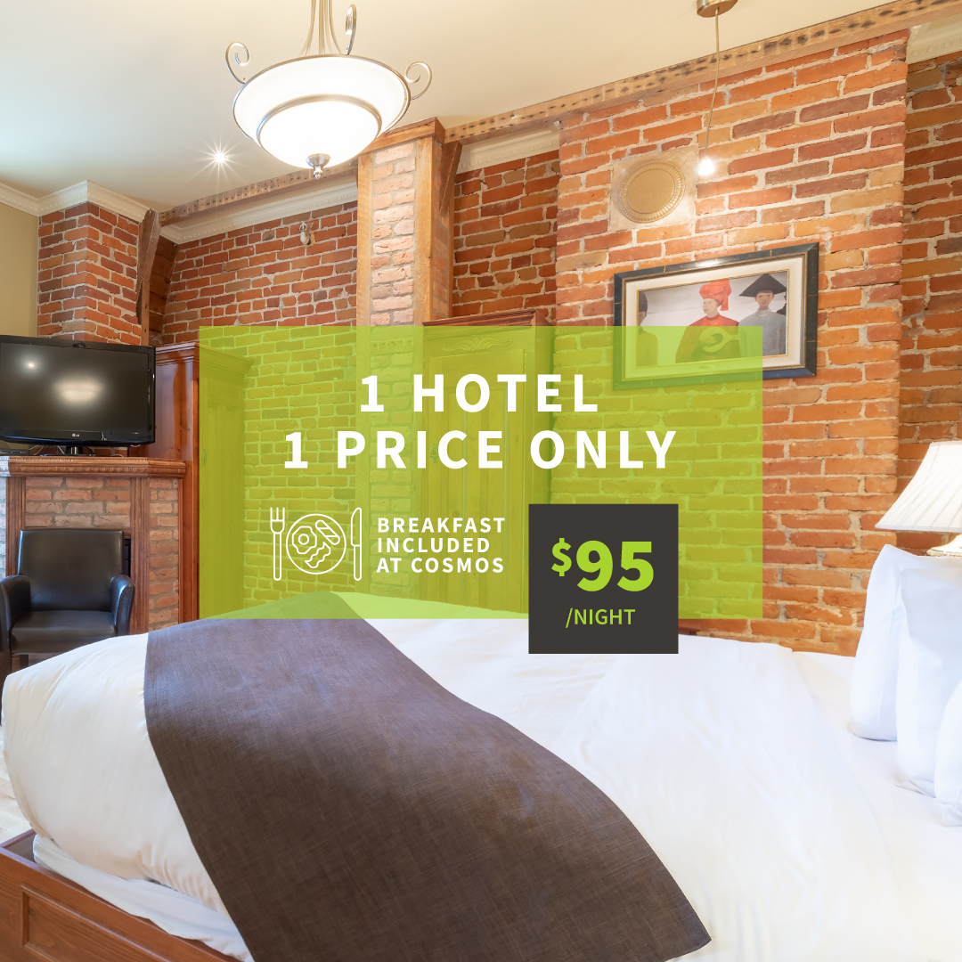 One hotel, one price